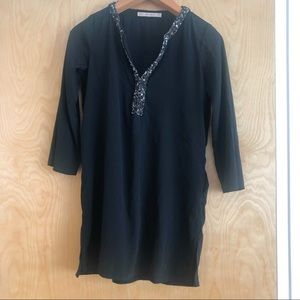 Zara Flowy top/mini dress, size XS